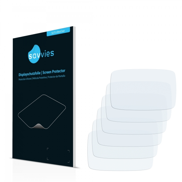 6x SU75 UltraClear Screen Protector TomTom GO 500 [2013]